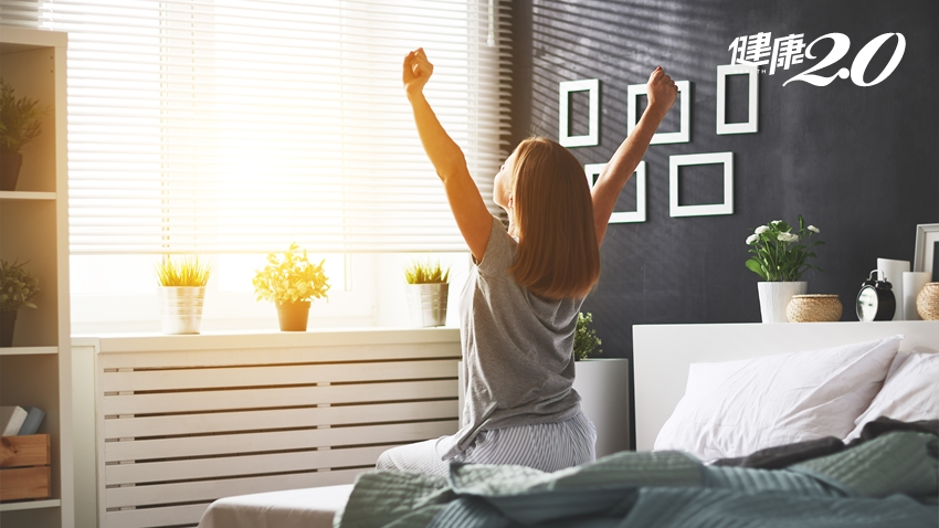 早睡早起並不正確!日醫1招早上清爽起床、晚上自然入睡