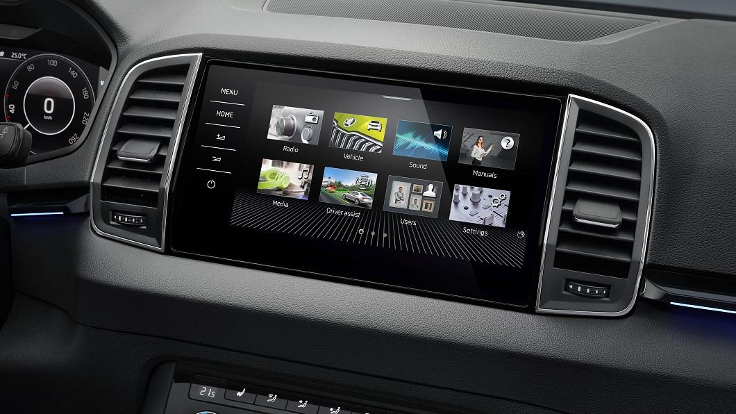 Škoda為2021年式Karoq、Kodiaq與Superb植入MIB 3多媒體資訊整合系統。(圖片來源/ Škoda) Karoq、Kodiaq與Superb同步受惠 新年式升級MIB 3多媒體主機