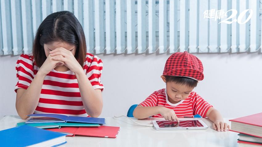 被小孩氣到胸悶 媽媽以為焦慮看精神科,結果卻出乎意料…