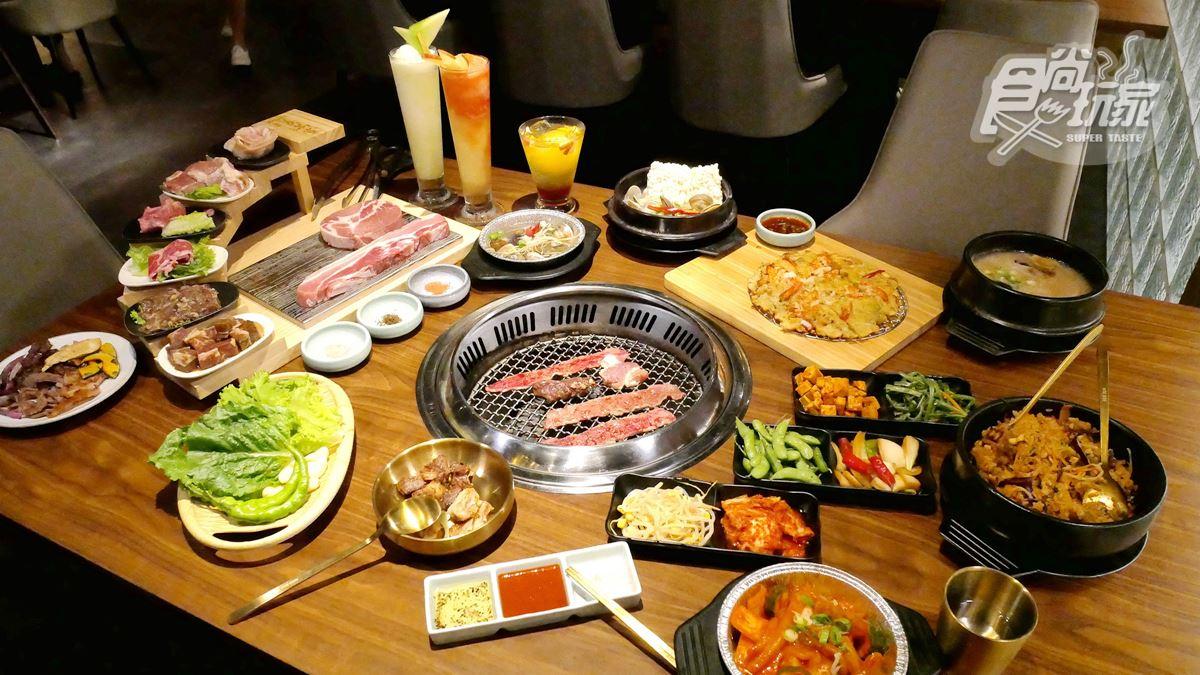 【新開店】雙人餐半價每人不到600元!高CP值韓式烤肉開幕,必點超長65公分豬五花