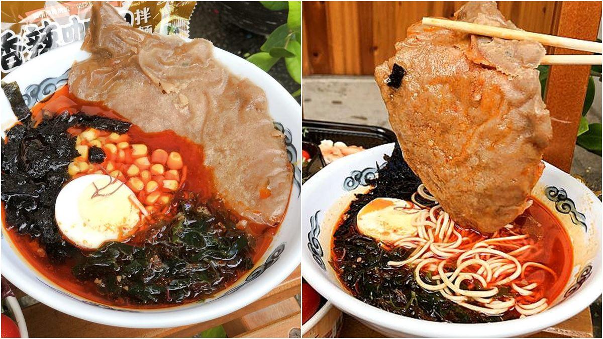 果然是台南式浮誇!滿滿蚵仔的涼麵好逼人,泰式酸辣醬汁爽口開胃瞬間完食
