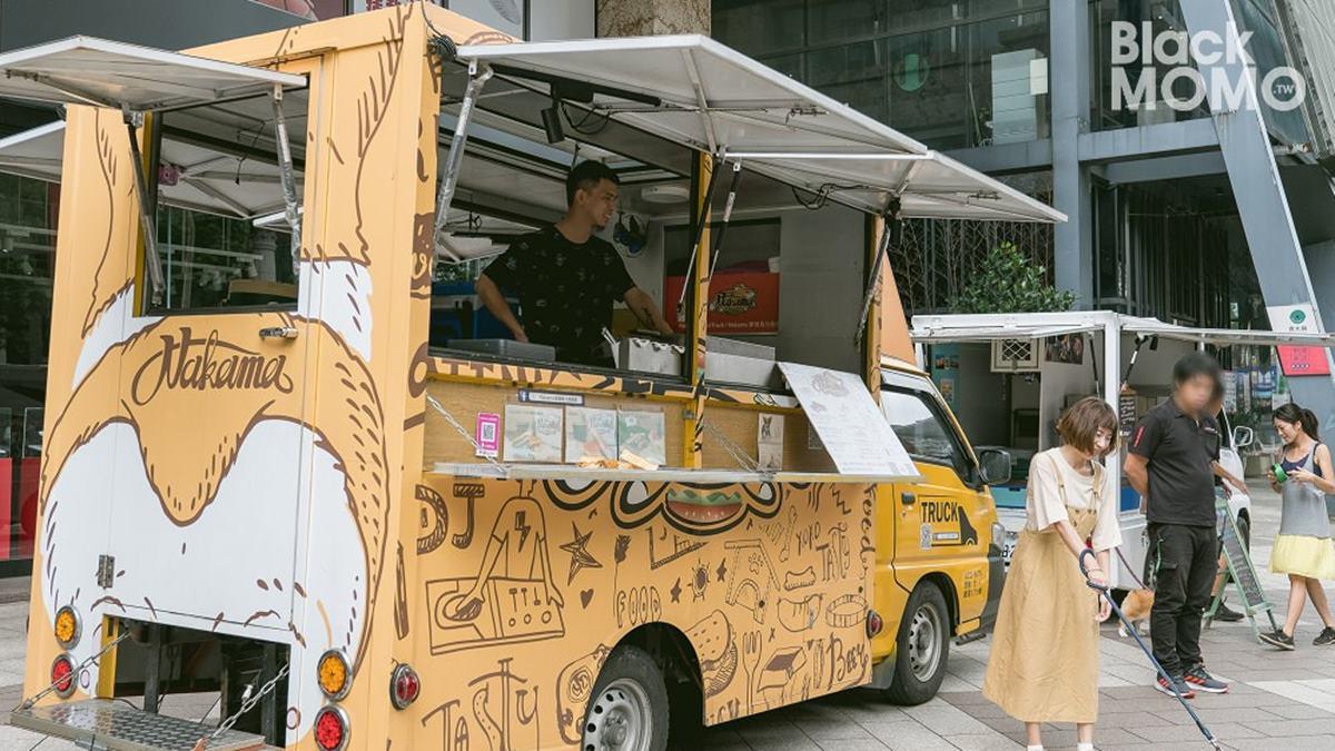 「排隊幽靈餐車」攏底加!全台11家:粉紅河馬雞蛋糕、柯基屁屁古巴三明治、PIZZA全黑防爆車