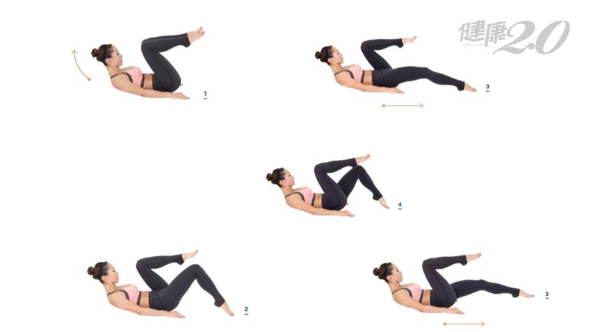 躺著做無痛瘦身!韓國媽媽3招最強瘦腰運動 鬆垮肥肚練出11字腹肌