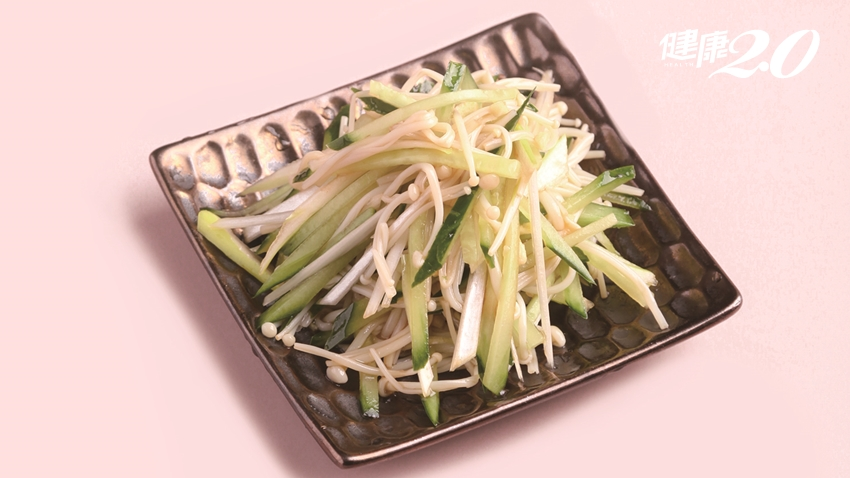 「減肥神器」小黃瓜!營養師揭小黃瓜最佳吃法 利尿、減脂、降血壓