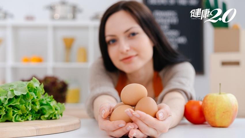 一天可以吃幾顆蛋?哈佛大學研究:女性吃越多蛋 心血管疾病風險越低