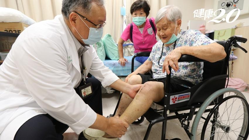 超高齡長者「膝關節痛」新選擇!96歲阿嬤治療後笑口常開、到處趴趴走