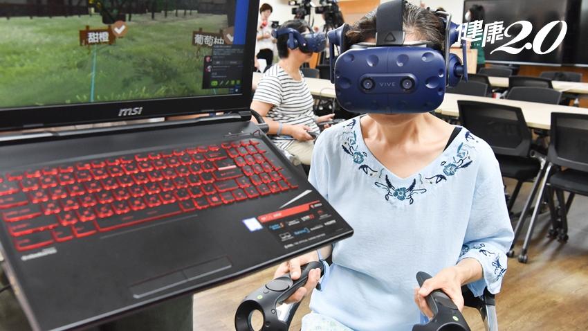 3D VR芳療有效提升身心健康 讓體弱長者壓力、睡眠品質改善了!