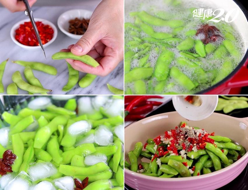 一招切洋蔥不流淚!涼拌洋蔥、涼拌毛豆超簡單食譜 一次就上手
