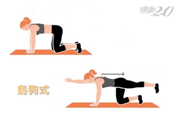 鍛鍊核心「縮肚子」就對了!一次15秒、每天練4招提升肌耐力