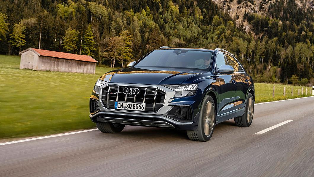 Audi為SQ7與SQ8新增汽油動力選擇。(圖片來源/ Audi) 507匹V8雙渦輪增壓引擎出線 SQ7與SQ8新增汽油動力
