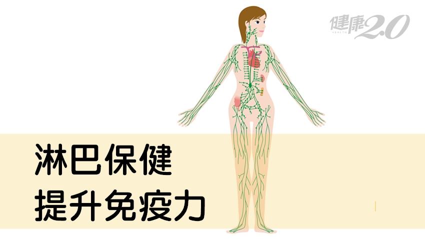 「淋巴阻塞」讓血路不暢、關節不靈活、刺麻腫脹!5個淋巴保健法有效