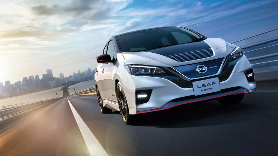 Nissan於日本搶先推出新年是Leaf Nismo,透過底盤升級強化操控表現。(圖片來源/ Nissan) Leaf Nismo操控升級 綠能電動車化身彎道利器
