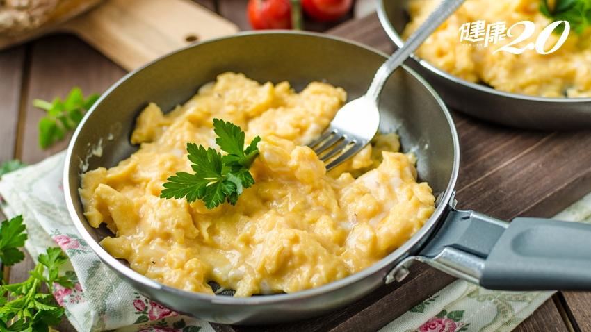 「全營養食物」雞蛋能瘦身、減重!下鍋前1動作做出滑嫩炒蛋