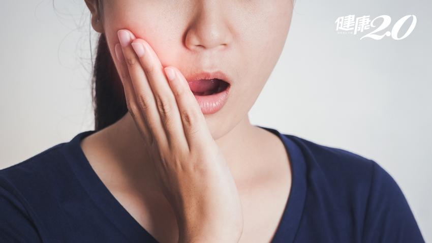 她以為牙齦腫大沒關係 結果變成一團肉瘤,一碰就流血