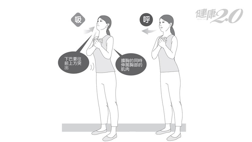 優質呼吸加速變瘦!日醫「胸部伸展操」提高代謝 不知不覺就瘦了