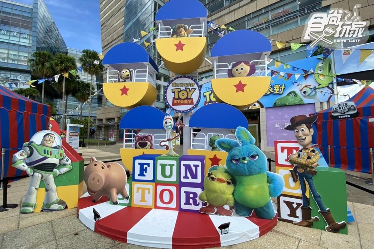 迪士尼粉暴動了!《玩具總動員》「3.5米摩天輪+巨型販賣機」在這,再狂買千款周邊