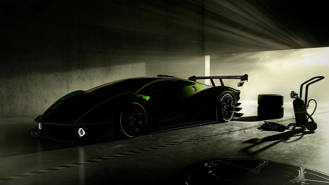 SCV12實車預覽圖曝光,預告即將正式發表現身。(圖片來源/ Lamborghini) 最強猛牛即將出閘 Lamborghini SCV12身影乍現