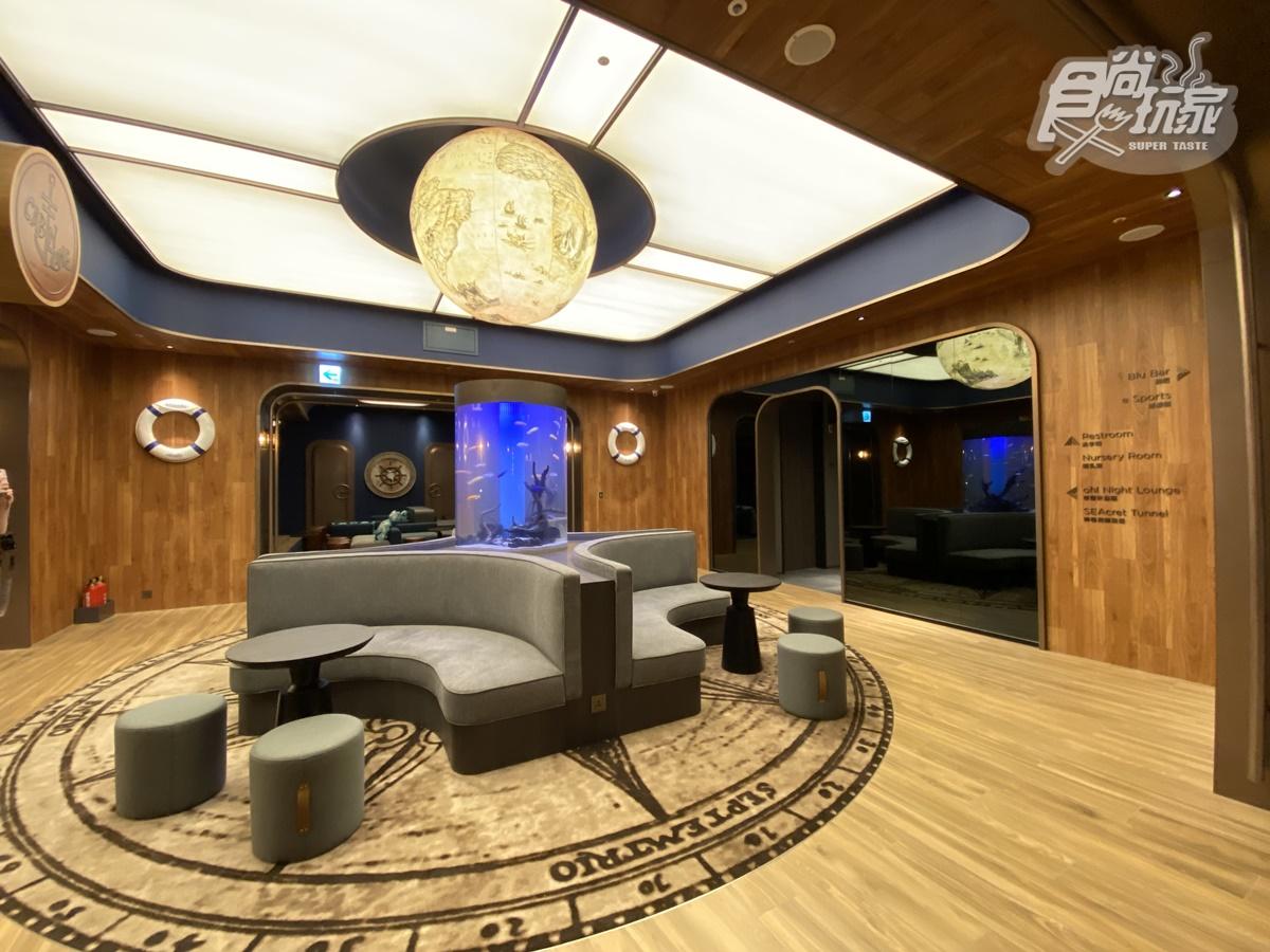 搶先水族館開幕!全台首家「海洋元素飯店」房內有鯨魚,碼頭Buffet、《甄嬛傳》餐廳必拍亮點直擊