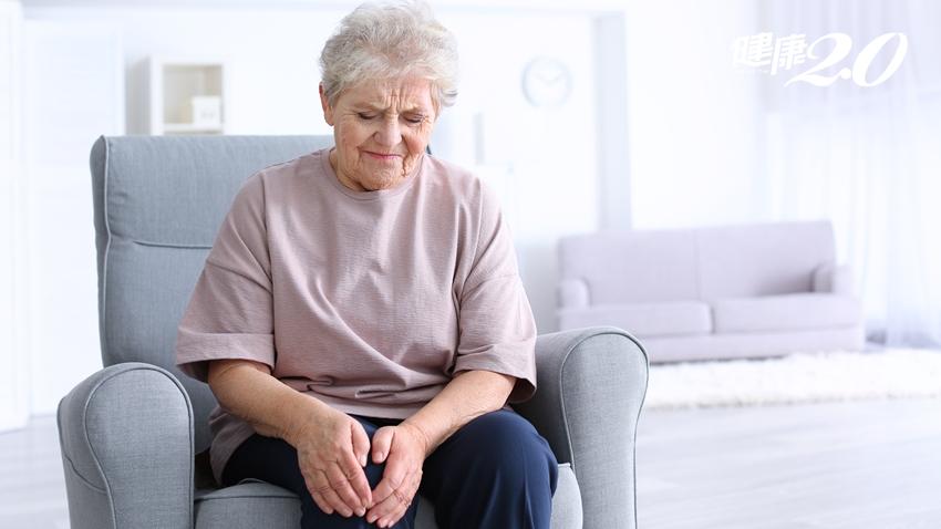 7旬婦人慢性膝關節疼痛逾3年 新治療疼痛少一半!