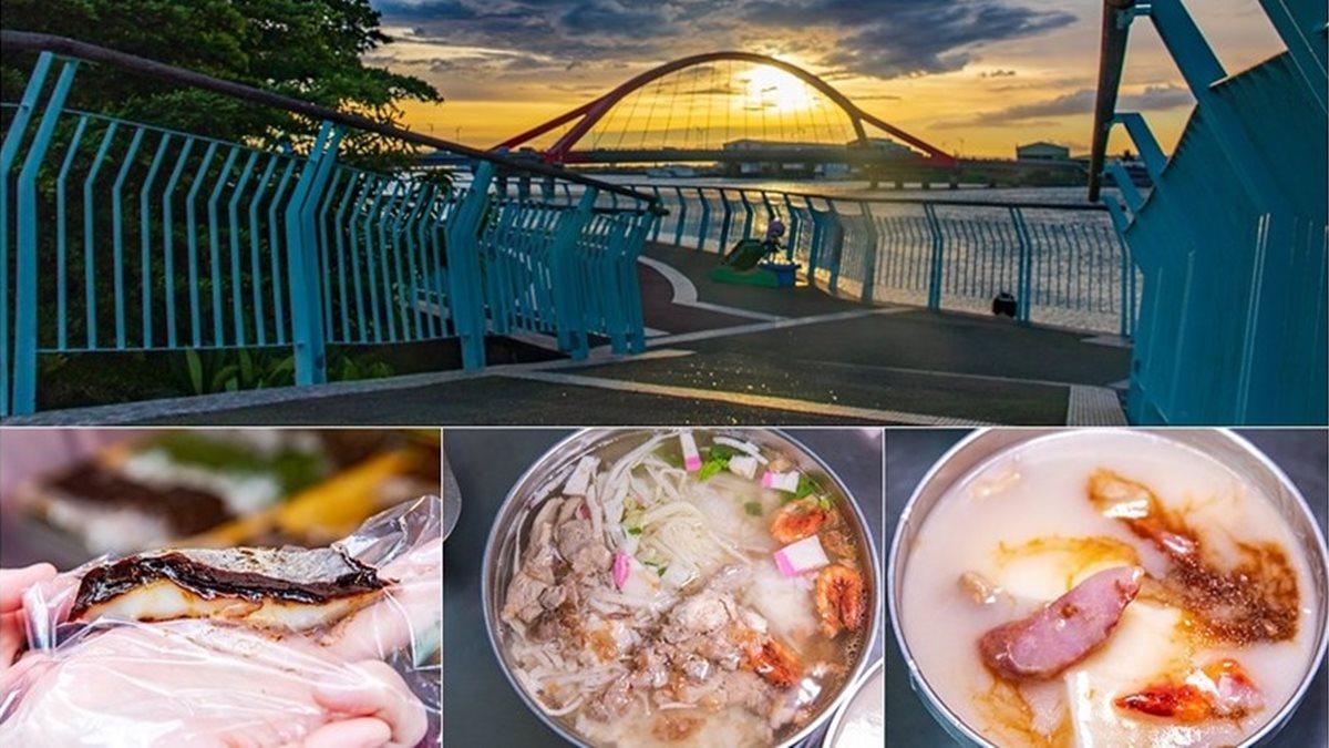 屏東隱藏版美食!吃貨必嘗「東港小三寶」:肉粿、飯湯、雙糕潤