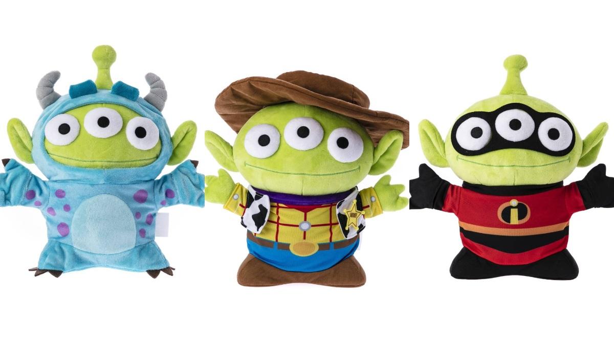 三眼怪控快打包!HOLA推6大迪士尼角色「限定版變裝玩偶」這天開賣,熊抱哥、毛怪通通有