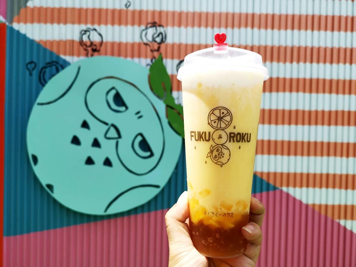 【新開店】網美系手搖飲開幕「免費送你喝」,還能打卡全台最大貓頭鷹彩繪牆