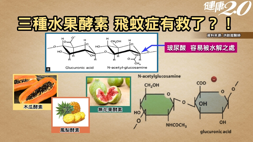 研究:「3種水果酵素」預防改善飛蚊症!飛蚊3異常快就醫