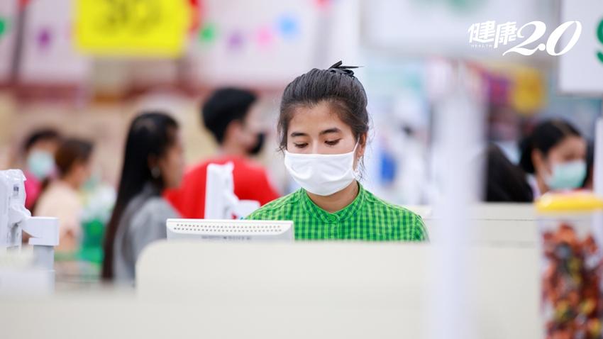 口罩又現搶購潮!醫:台灣存在社區傳播風險,「無症狀感染者」病毒量一樣多