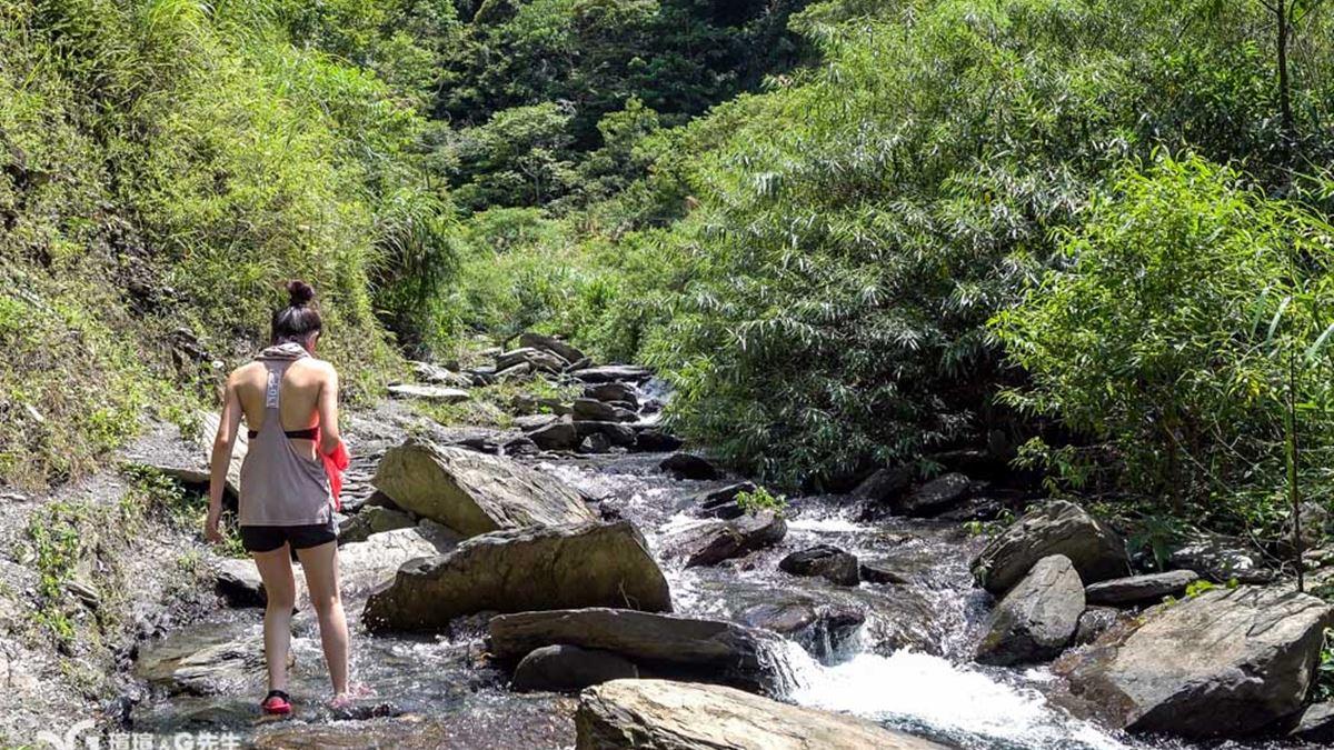 【食尚首播】新手也能玩溯溪!南投祕境路線超好走,還可拍40公尺瀑布美照