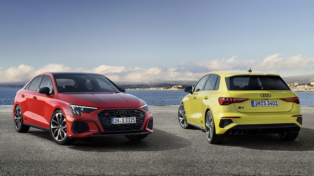 Audi推出新世代S3 Sportback與S3 Sedan,以310匹馬力笑傲同級。(圖片來源/ Audi) 310匹問鼎同級馬力王 Audi新世代S3現身