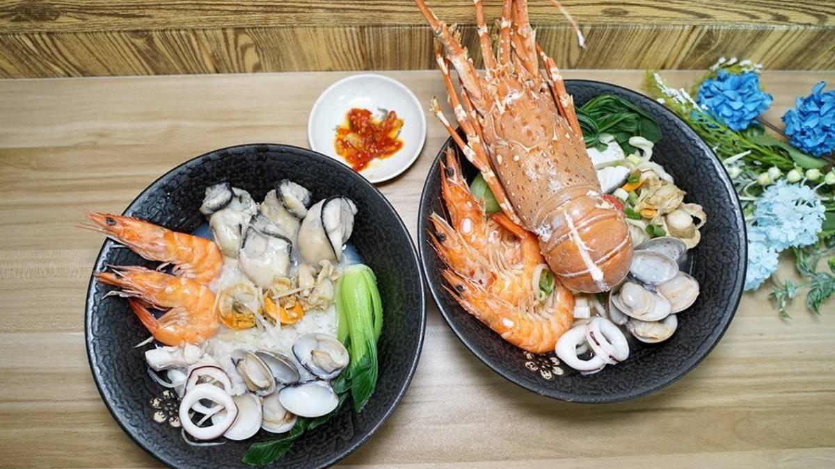海鮮控快筆記!新竹痛風系湯麵太浮誇,廣島生蠔、霸王級龍蝦通通吃得到