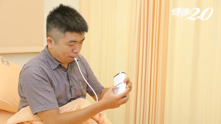 治療睡眠呼吸中止症新方法!「負壓吸舌機」免戴氧氣罩 75%睡眠呼吸中止症病患明顯改善