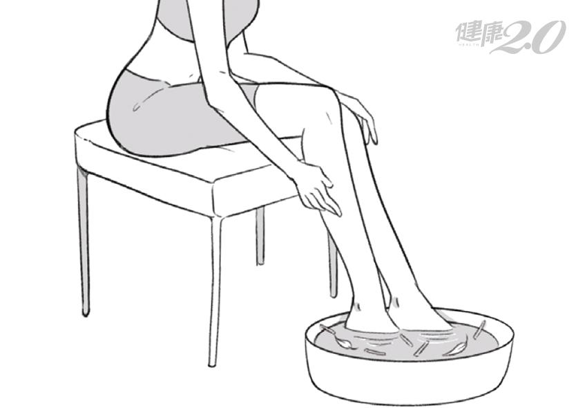 女人愛穿短褲短裙 下半身越冷越胖!「泡腳祕招」甩掉梨形肥胖