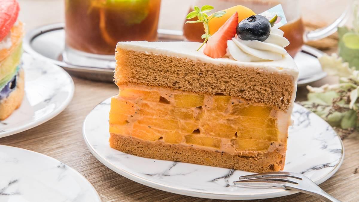 中壢下午茶首選!IG暴紅泰奶布丁有濃濃茶香,千層蛋糕還能吃到5種水果