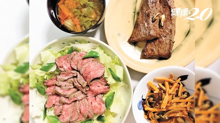 「減醣瘦身減重法」小腹消失了!他先吃菜再吃肉喝湯 4個月狂瘦16公斤