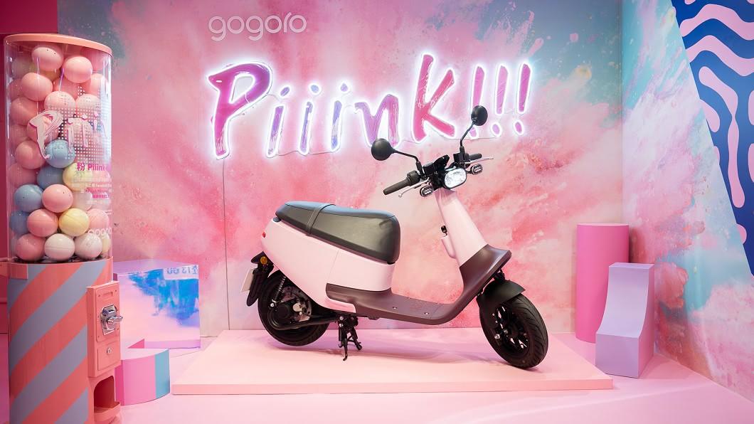 Gogoro 看好暑期女性購車商機,於8/18發表 Gogoro VIVA Plus 玫瑰粉和 Gogoro VIVA Lite 糖霜粉兩款新色。(圖片來源/ Gogoro) 網美IG新地標Piiink Café Gogoro VIVA新色登場