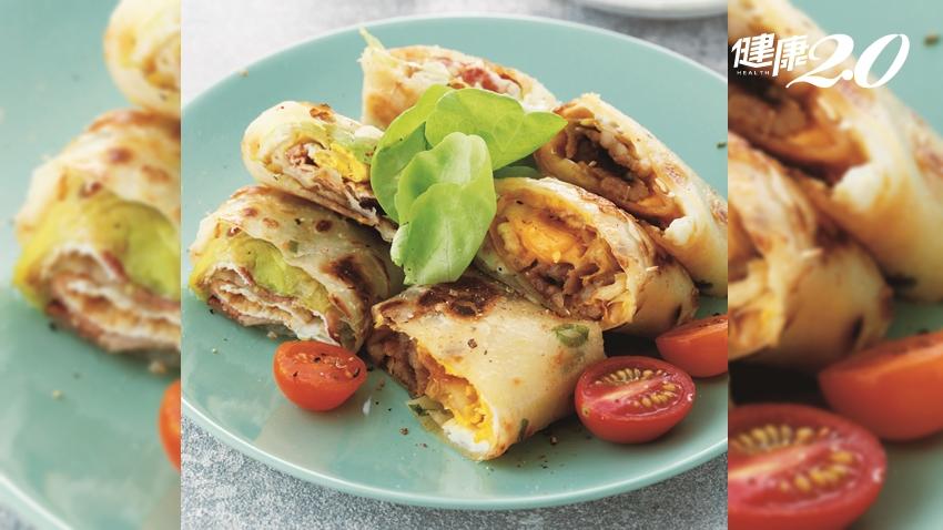 早餐吃蛋對腦最好!國民媽媽2道省時蛋餅料理 吃進滿滿營養素