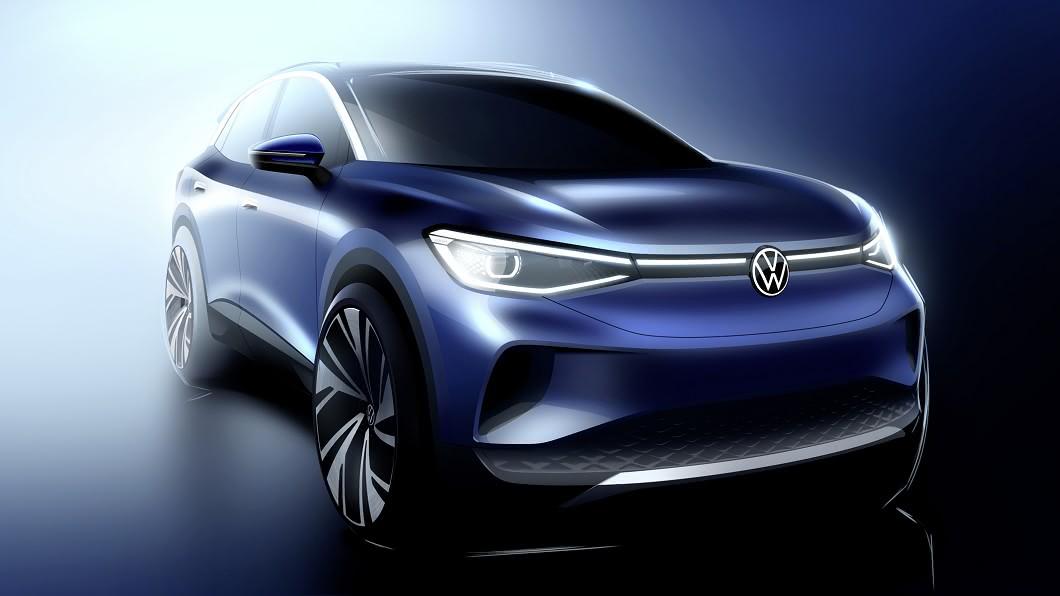 ID.4正式於德國啟動量產,預計9月發表。(圖片來源/ Volkswagen) 福斯電動休旅ID.4量產啟動 預告9月底發表亮相