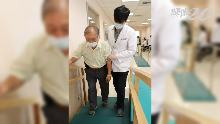 62歲的他睡前禱告突中風 PAC復健計畫,一個月恢復走路、自行搭車