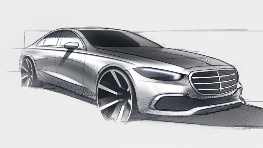 全新大改款M-Benz S-Class預計在9/2正式與全球車迷見面。(圖片來源/ M-Benz) 大改款S-Class 9/2全球首演 56號工廠同步亮相