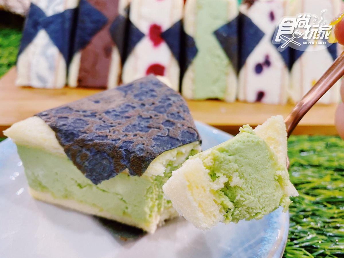 御飯糰變甜點!全台唯一「御冰糰冰淇淋蛋糕」,先吃芒果、抹茶口味