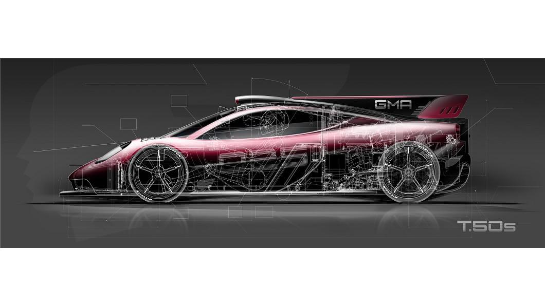 Gordon Murray將推出T.50s賽道版超跑,全球僅限量25輛。(圖片來源/ Gordon Murray) 大尾翼配車尾風扇 賽道版T.50s要價逾1.2億台幣