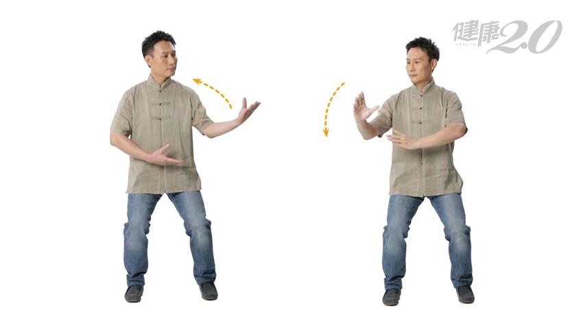 1招按摩五臟六腑!「運轉太極」暢通經脈 扭轉身體提升臟腑機能