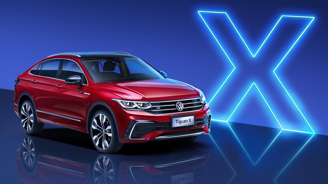 Volkswagen於中國大陸正式發表Tiguan X。(圖片來源/ 上汽大眾) 福斯斜背跑旅現身 Tiguan X要奪最美SUV后冠