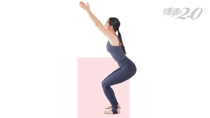 深蹲該蹲多低?「座椅式」鍛鍊大小腿、強化核心肌群、強健心臟!