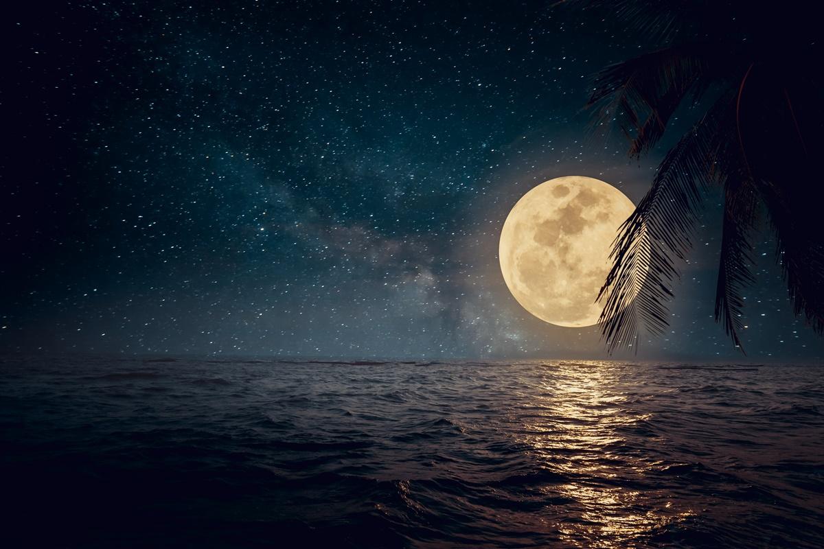 超罕見!「藍月亮」10/31萬聖節登場,肉眼就能看到飽