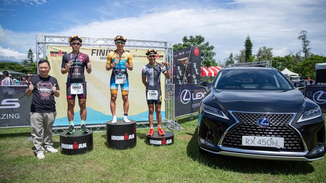 (圖片來源/ Lexus) 下半年首場亞洲國際鐵人賽在台東! RX 450hL擔任前導車替選手開路