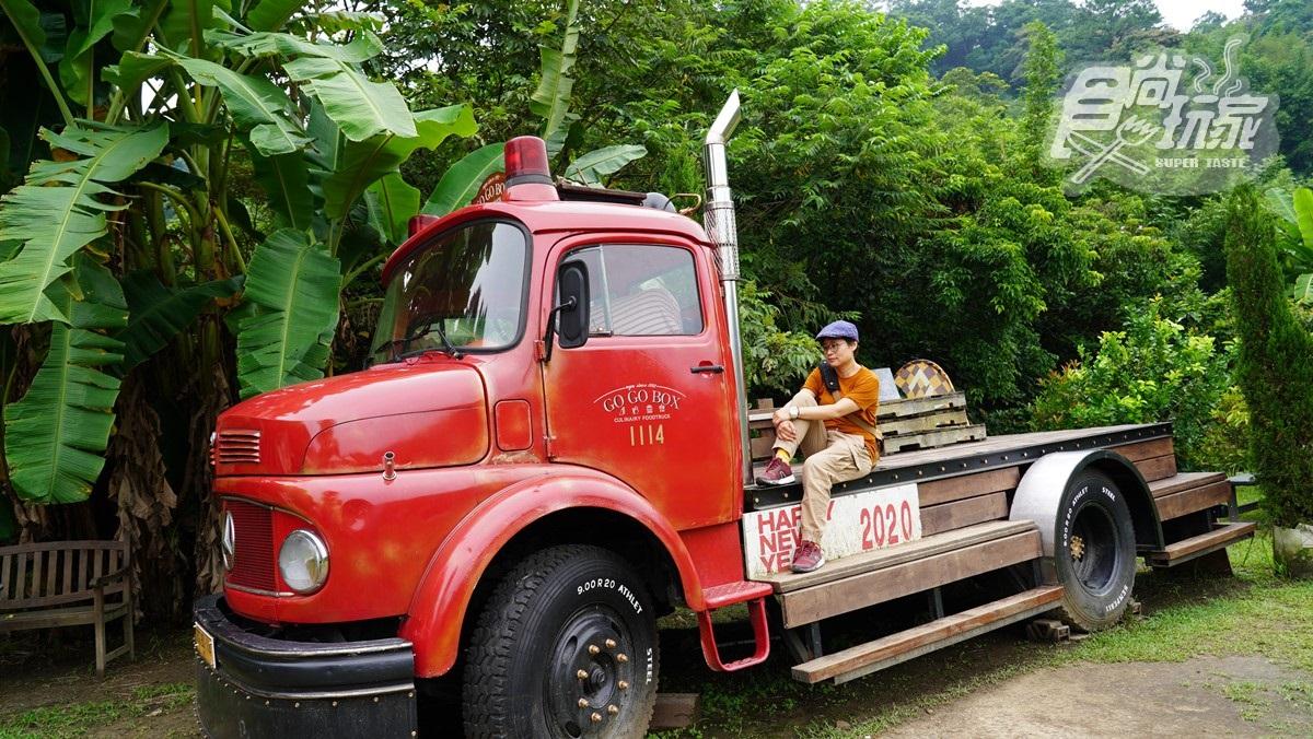 美拍浪漫純白「九月雪」韭菜花海!大溪二日遊提案,找超美味無名炸雞、賣漢堡的消防車