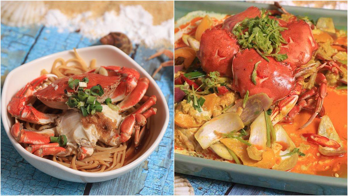 黃金蟹、旭蟹、三點蟹我都要!超過20種螃蟹料理吃到飽,整隻帝王蟹加價購慶生好威