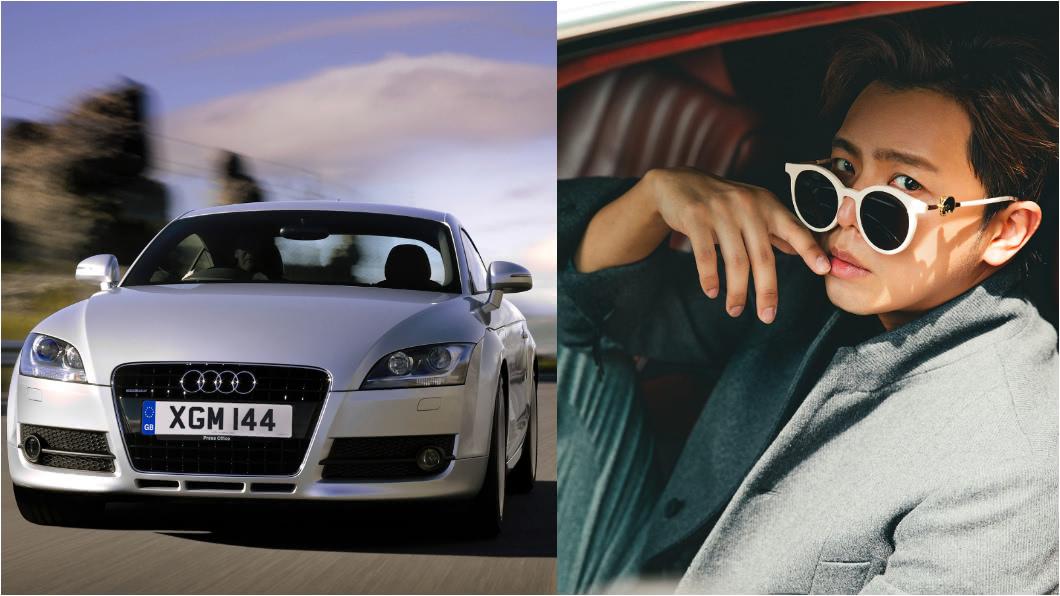 黃鴻升曾表示自己非常喜歡Audi TT。(圖片來源/ Audi、黃鴻升Facebook) 小鬼黃鴻升孝順敬業 對車有獨特見解